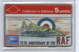 Gibraltar 308A - RAF, 5u - MINT