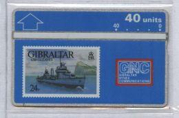 Gibraltar 306A - USS Gleaves, 40u - MINT