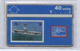 Gibraltar 306A - HMS Ark Royal, 40u - MINT