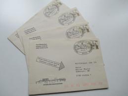 BRD 60 Pfg. B&S Privat-GU/Vorführpost IVA'79 + SST Hamburg 1979. Anschriftenlesemaschine. Strichcode. Post-Messestand - BRD