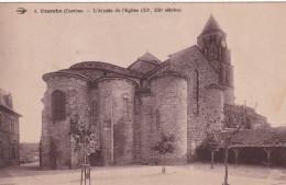 UZERCHE L'ABSIDE DE L'EGLISE  (dil183) - Uzerche