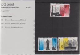 NEDERLAND, 1987, Mint PTT Mapje Summer Issues, Map 46, F1135 - Period 1980-... (Beatrix)