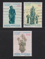 VATICAN, 1987, Used Stamps , Lithuanian Chapel, 913-915, #4420 - Vatican