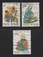 VATICAN, 1988, Used Stamps , Murian Year , 940=945, #4422, 3 Values Only - Vatican