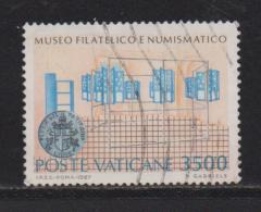 VATICAN, 1987, Used Stamps , Inauguration Of Museum , 925, #4425, 1 Value(s) Only - Vatican