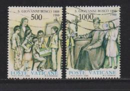 VATICAN, 1988, Used Stamps , St. John Bosco, 937=939, #4426, 2 Value(s) Only - Vatican