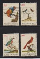 VATICAN, 1989, Used Stamps , Birds, 976=983, #4429, 4 Value(s) Only - Vatican