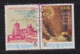 VATICAN, 1993, Used Stamps , Prayer Meeting, 1079,  #4437, 1 Value(s) Only - Gebruikt