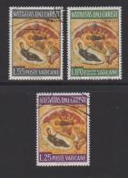 VATICAN, 1967, Used Stamps , The Nativity, 533-535,  #3941, Complete - Vatican