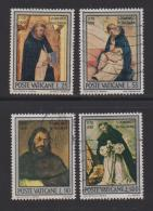 VATICAN, 1971, Used Stamps , St. Dominic  Guzman, 586-589  #3979, - Vatican