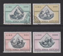 VATICAN, 1971, Used Stamps , Air Stamps, 590-593  #3980, - Vatican