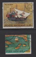 VATICAN, 1972, Used Stamps , Mark At Sea, 599=604  #3984,  2 Values Only - Vatican
