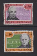 "VATICAN, 1972, Used Stamps , Luige Orione ""Caritas"", 613-614, #3987, - Vatican"