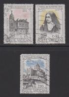VATICAN, 1973, Used Stamps , ST. Theresa, 618-620, #3989, - Vatican