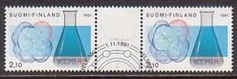 Finnland  1157/58 ZD , O  (H 935) - Gebraucht