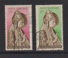 VATICAN, 1955, Used Stamps , Pope Nicolas V, 235=237, #4184,  2 Values Only - Vatican
