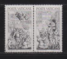 VATICAN, 1977, Used Stamps , Pope Gregor XI, 701-702, #4315,  Complete - Vatican