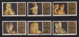 VATICAN, 1977, Used Stamps , Sculptures, 705-710, #4318,  Complete - Vatican