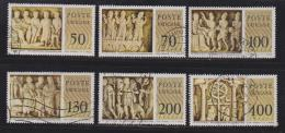 VATICAN, 1977, Used Stamps , Classical Sculptures, 711-716, #4319,  Complete - Vatican
