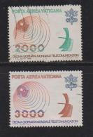 VATICAN, 1978, Used Stamps , Telecommunication,, 723=725, #4325,  2 Values Only - Vatican
