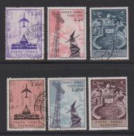 VATICAN, 1967, Mixed Stamps , Jet Airliners Over St. Peter, 517-522, #3936,  Complete - Vatican