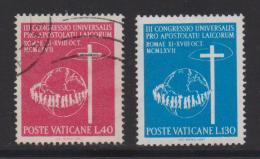 VATICAN, 1967, Mixed Stamps , Congress Emblem, 531-532, #3939,  Complete - Vatican