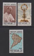 VATICAN, 1968, Mixed Stamps , Pope Paul VI, 538-540, #3944,  Complete - Vatican