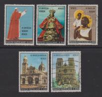 VATICAN, 1970, Mixed Stamps , Pope Paul's Visit To Asia, 572-576, #3976  Complete - Vatican