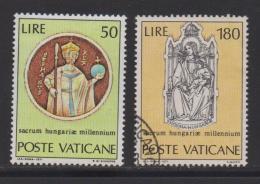 VATICAN, 1971, Mixed Stamps , St. Stephen, 594-595, #3982 Complete - Vatican