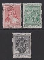 VATICAN, 1972, Mixed Stamps , Cardinal Bessarione, 610-612, #3986 Complete - Vatican