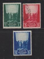 VATICAN, 1944, Mixed Stamps , Prisoners Of War, 96-98, #4132,  Complete - Vatican