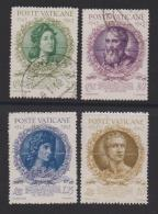 VATICAN, 1944, Mixed Stamps , Raphael, 99-102, #4152,  Complete - Used Stamps