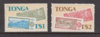 Tonga 1983 Bank Anniversary Self Adhesive Set (2) MNH - Tonga (1970-...)
