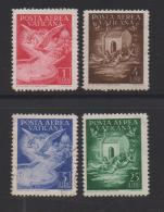 VATICAN, 1947, Mixed Stamps ,Airmail, 140=146, #4158  4 Values Only - Used Stamps
