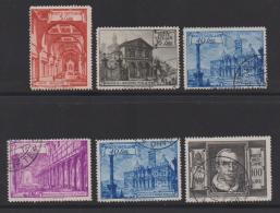 VATICAN, 1949, Mixed Stamps , Pope Pius XII, 149=158, #4168,  6 Values Only - Used Stamps