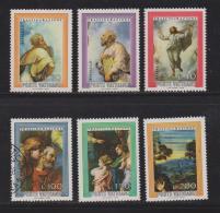 VATICAN, 1976, Mixed Stamps , Raphael's Transfiguration, 683-688, #4305, Complete - Vatican