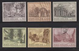 VATICAN, 1976, Mixed Stamps , Architecture, 689-694, #4307, Complete - Vatican