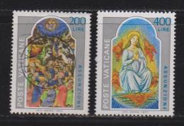 VATICAN, 1977, Mixed Stamps , Death Of The Virgin, 703-704, #4316, Complete - Vatican