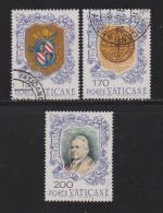 VATICAN, 1978, Mixed Stamps , Pope Pius IX, 720-722, #4324, Complete - Vatican