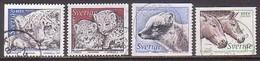 Schweden, Tiere 1988/91 , O  (H 990) - Zweden