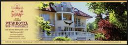 GERMANY - FUSSEN - PARKHOTEL BAD FAULENBACK - STICKER / AUTOCOLLANT - Hotel Labels