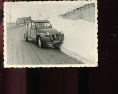 PHT6 Photo 11,50x8,50 Photo Col D'Envalira, 2CV Citroën; Photo Miquel Lavelanet - Andorre
