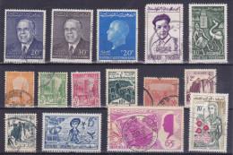 Lot Tunisie - Good Value (see Scan) (Mix99) - Tunisie (1956-...)