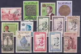 Lot Maroc - Good Value (see Scan) (Mix100) - Maroc (1956-...)