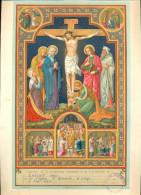 Souvenir De Communion Solennelle à Liège, à L'église St Remacle, En 1942. - Godsdienst & Esoterisme