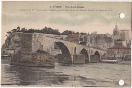 France, AVIGNON, Pont Saint Benezet, 1947 Used Postcard [18194] - Avignon (Palais & Pont)