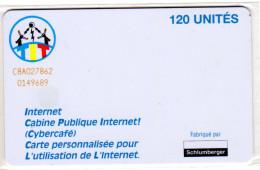 TCHAD REF MV CARDS CHD-20 SC7 120U INTERNET1 - Tsjaad