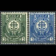 IRELAND 1933 - Scott# 88-9 Holy Year Set Of 2 LH - 1922-37 Irish Free State