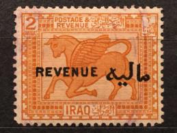 RARE 1923 2 ANNAS IRAQ REVENUE OVERPRINT RARE STAMP MINT - Iraq