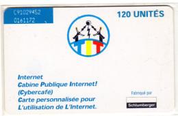 TCHAD REF MV CARDS CHD-21 SC7 120U INTERNET2 - Tschad